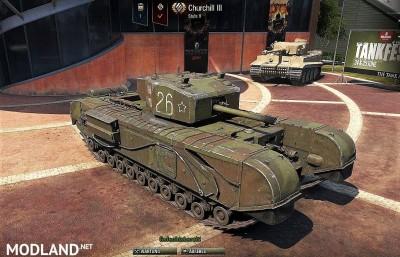 Sgt_Krollnikow51's Skin for the Churchill MK.III LL (Lend Lease) heavy Premium Tank 2.4 [1.3.0.1], 2 photo